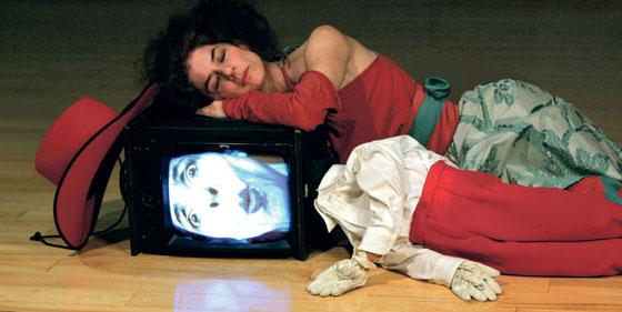 Cathy Weis in  Dummy  Photo by Richard Termine, 1999