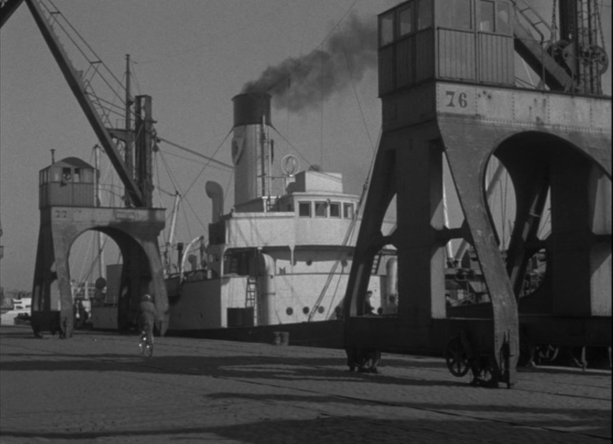 THE SAILORS QUARTER (SCHIPPERSKWARTIER)  (1953)