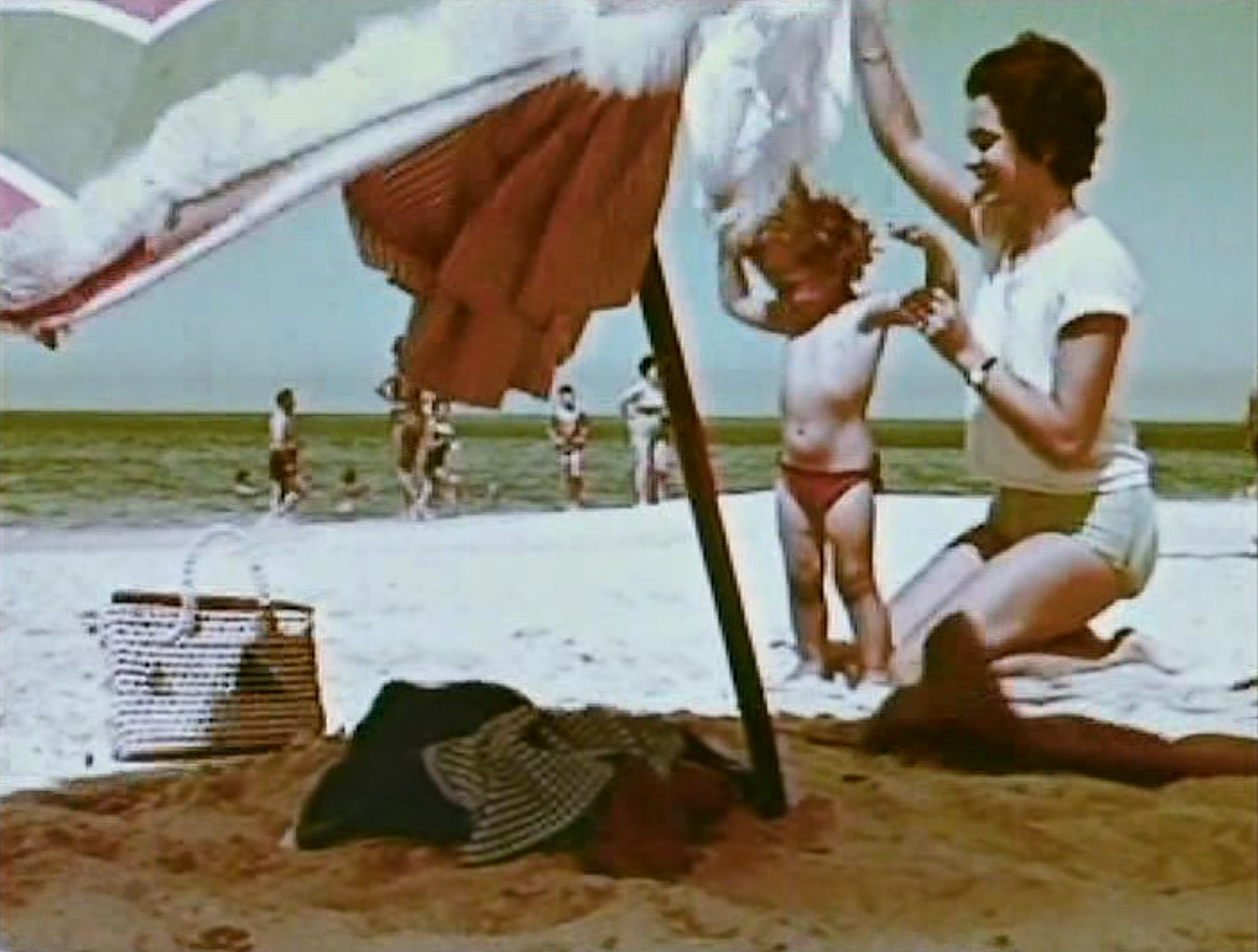 THE CITY ON THE BEACH (LA CIUDAD EN LA PLAYA)  (Ferruccio Musitelli, 1961)