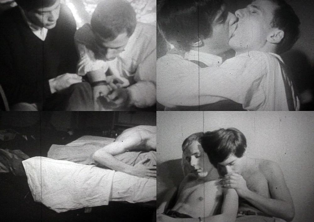 Scenes from Warren Sonbert's AMPHETAMINE (1966 with Wendy Appel)