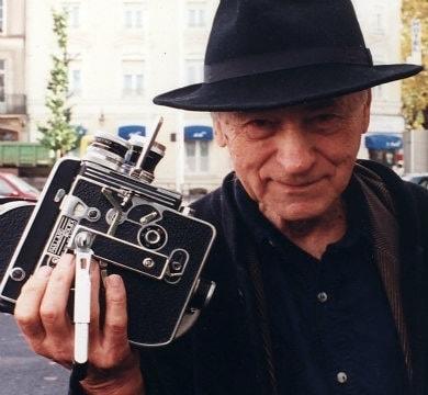 Filmmaker Jonas Mekas