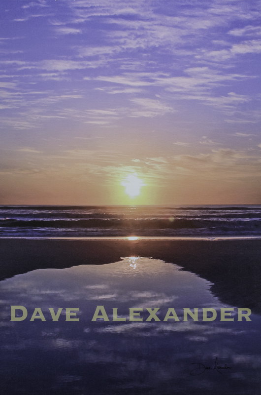 """Low Tide Reflections"" by Dave Alexander"