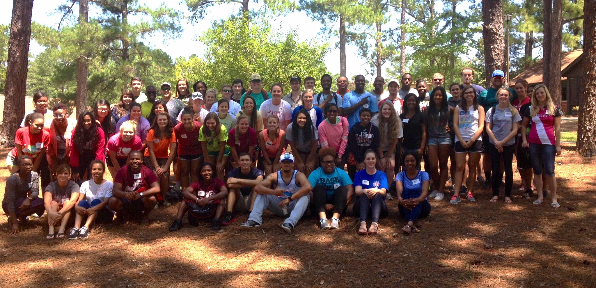 Club retreat at the University of South Carolina - Aiken.