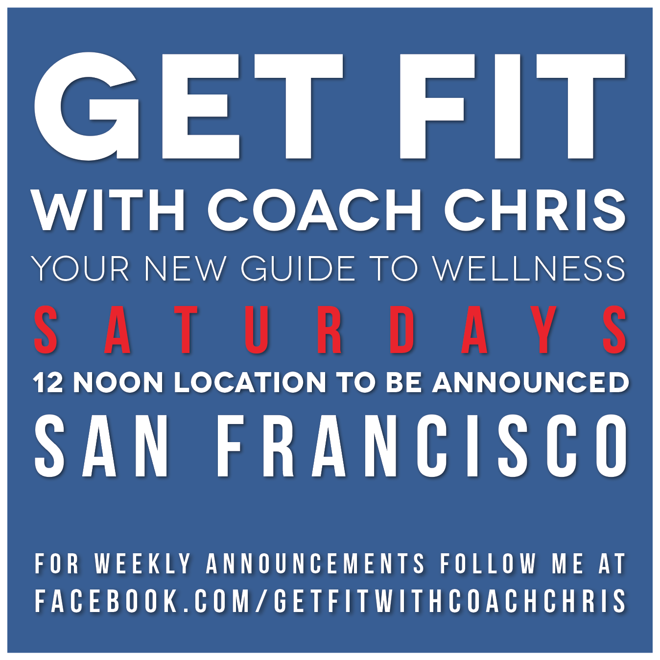 Next class will be announced on my  facebook  page - classes begin at 12 noon - Be sure to RSVP!