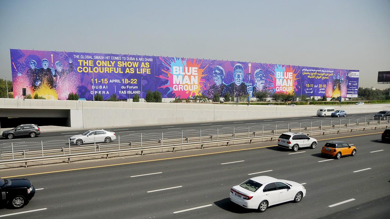 LindseyBest BlueManGroup Dubai