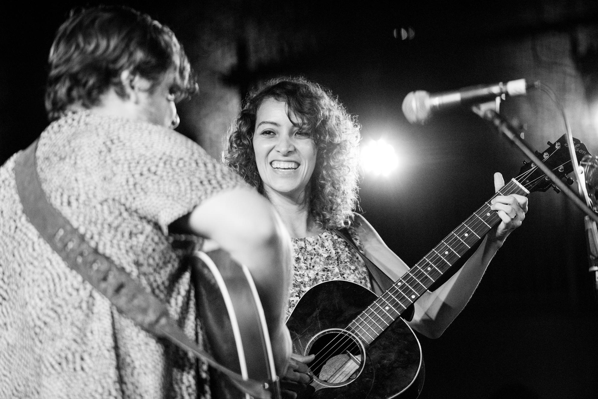 Sean Watkins and Gaby Moreno