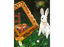 White Rabbit Reflection