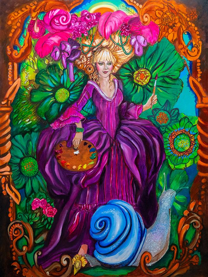 Claudia the Painter