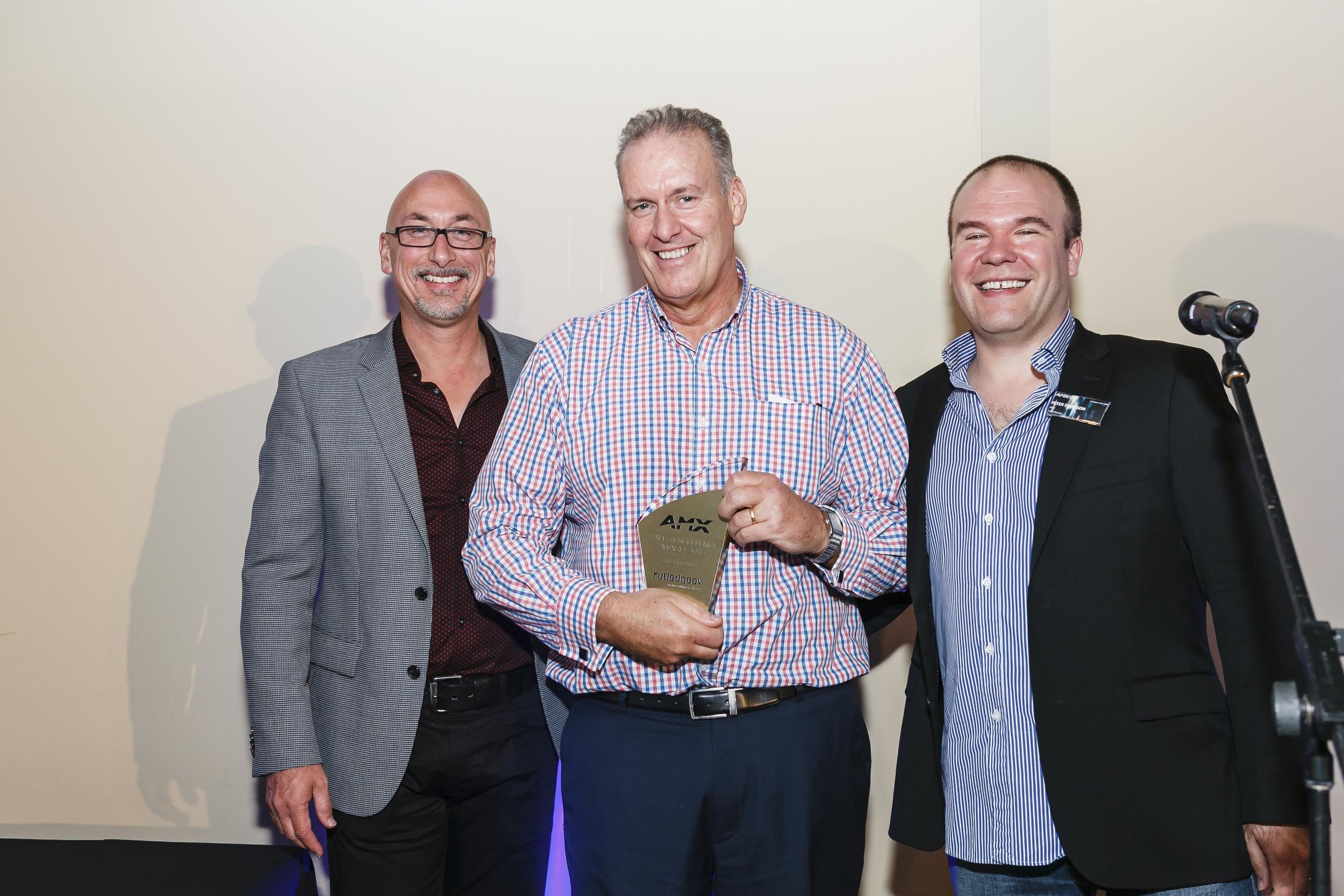 Rutledge AV - Gold Sales Award