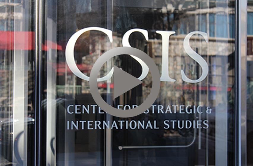 Centre for Strategic International Studies (CSIS) - Case Study