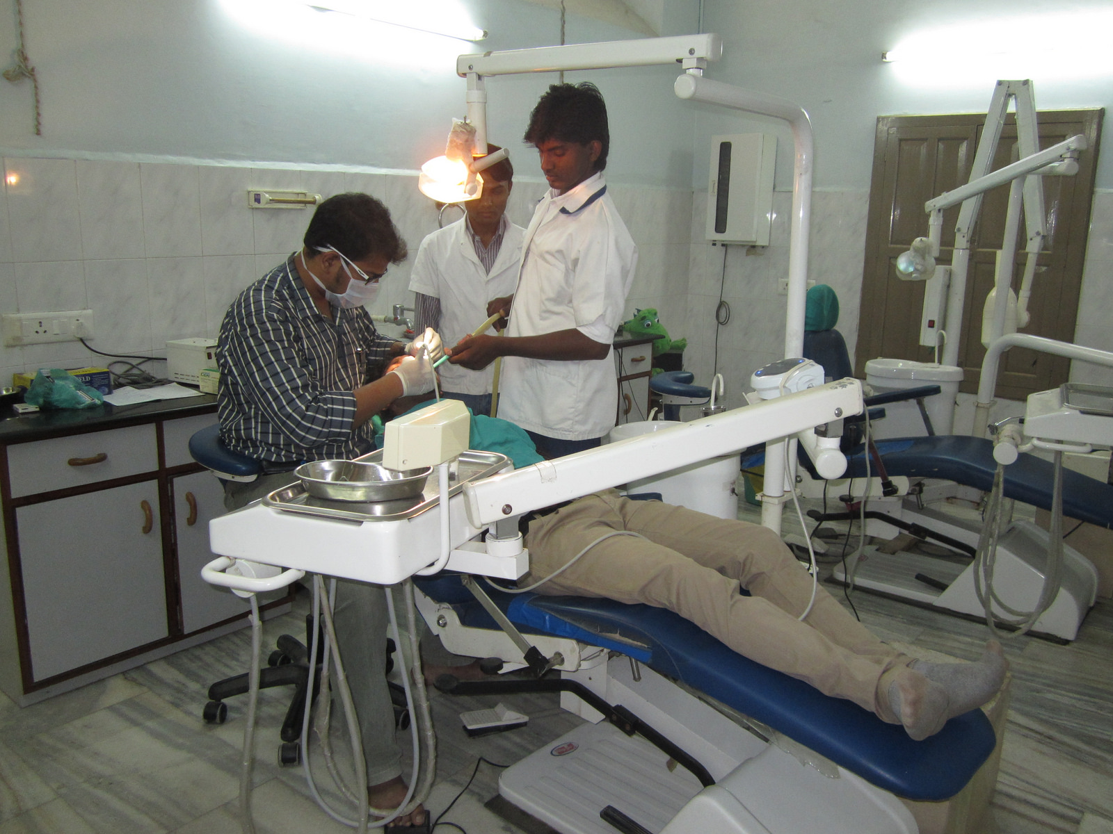 In addition to primary and emergency care, the hospital offers dental and eye services that would otherwise be inaccessible to the communities served by KCH. - Photo courtesy of SIM India