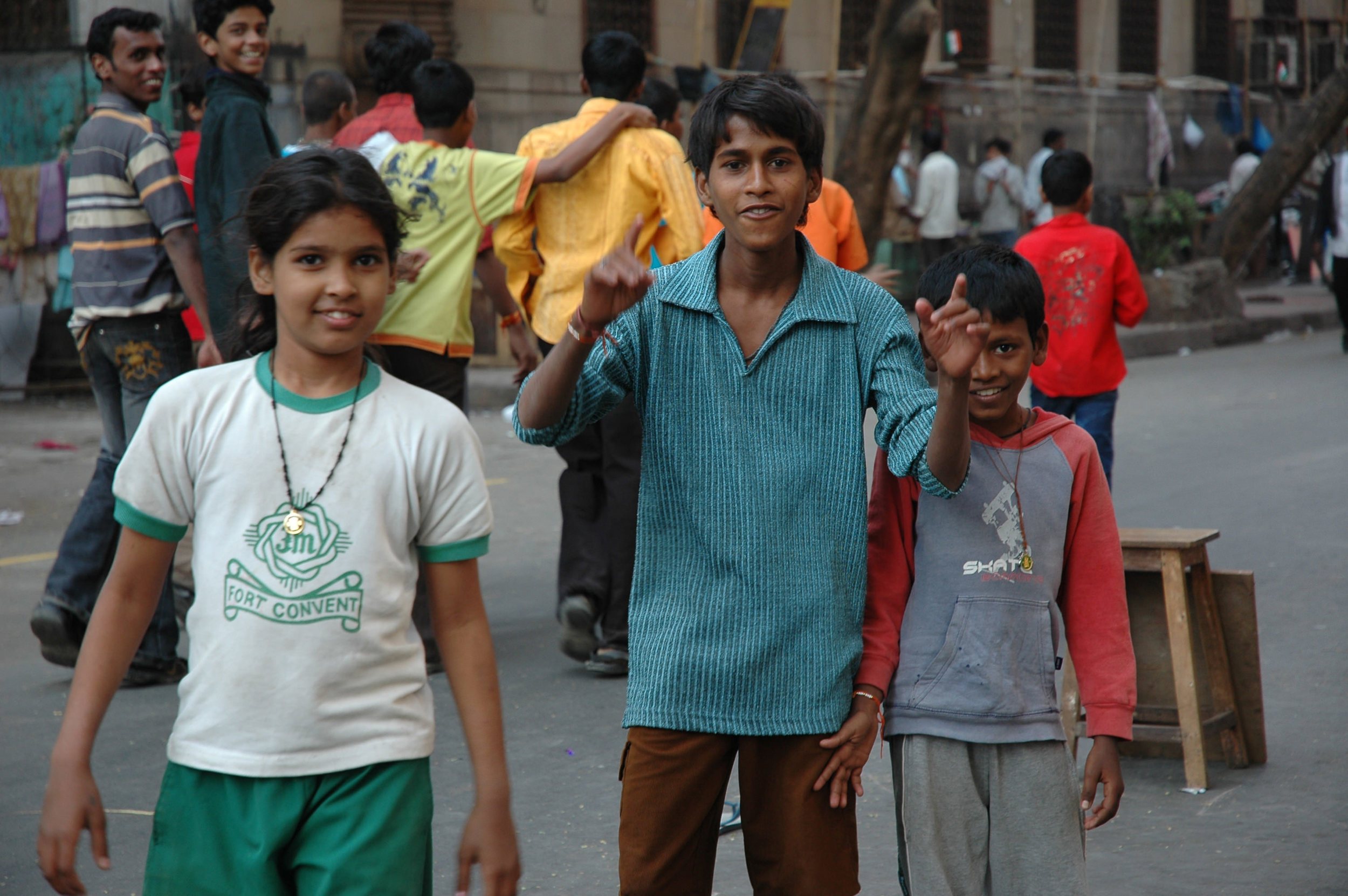 Millions of Indian kids like these are in urgent need of mentors to take an interest in their often neglected lives. Photo by Catie Sdrawde