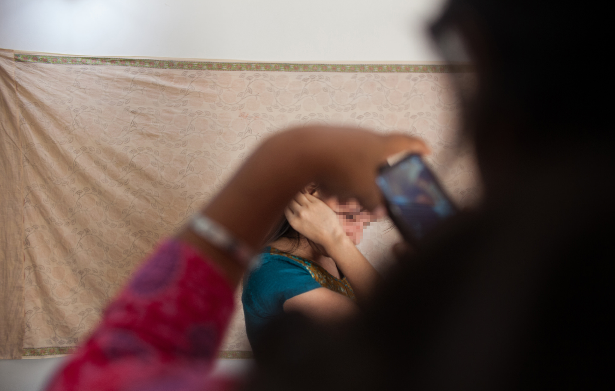The girls practice some photography. After abuse, drug addictions, and other experiences that have disrupted the normal flow of life, these young women need much encouragement and care in order to be equipped for a life different from what they have known.