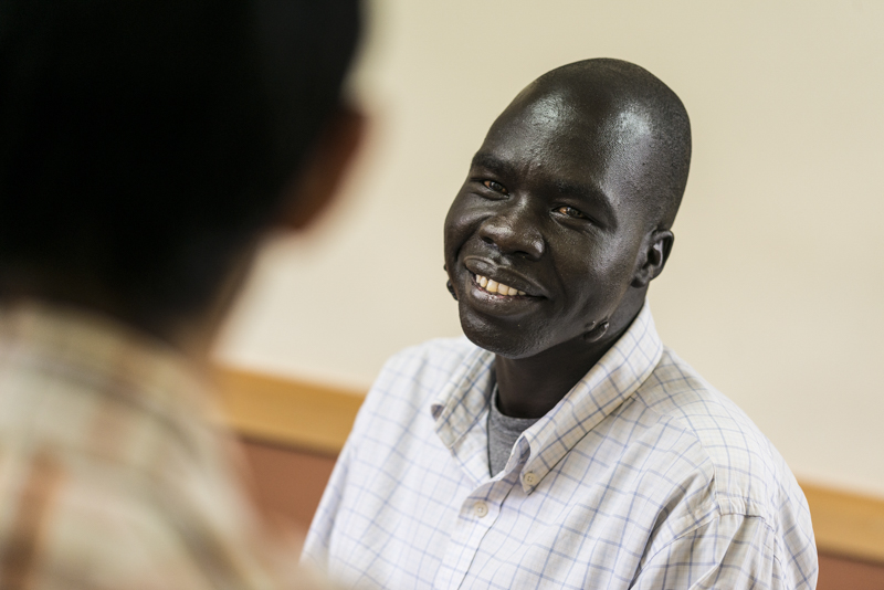 Joseph was conscripted to the Sudan People's Liberation Army when he was barely six years old - Photo by Tim Coleman.