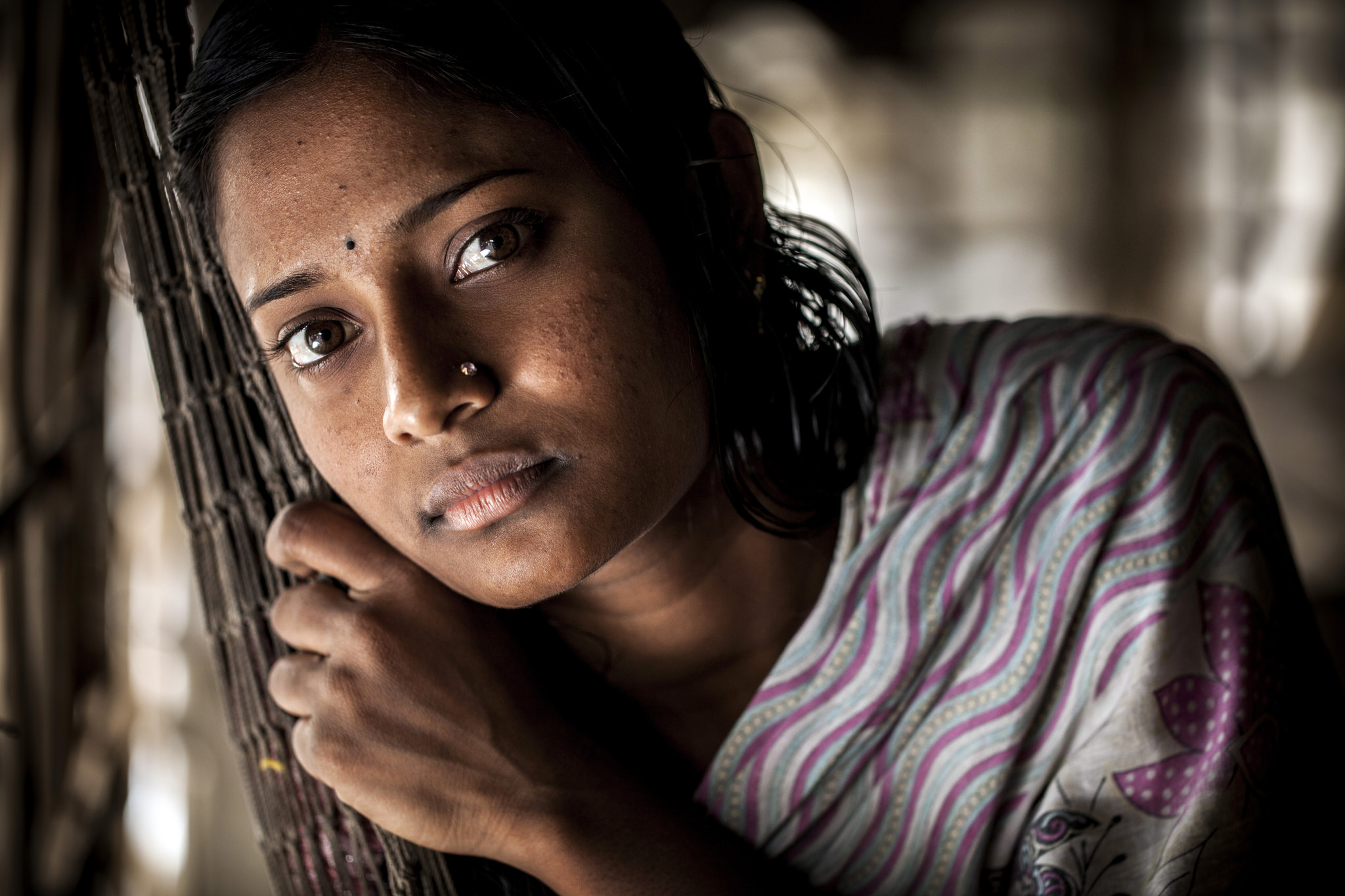 Many young women in Bangladesh struggle to provide for themselves and their families in large cities like Dakha. For some sex work can seem like an attractive way to make extra money -Photo courtesy of  WorldFish .