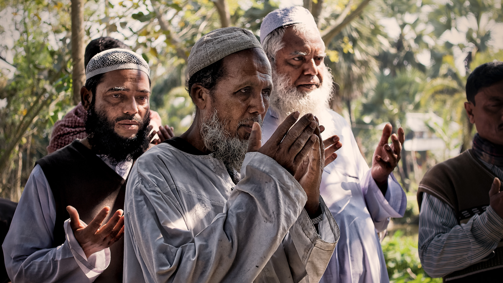 Many people in Muslim communities of South Asia depend totally on religious leaders to interpret the Quran for them since they cannot understand Arabic - Photo courtesy of   Armand Rajnoch .