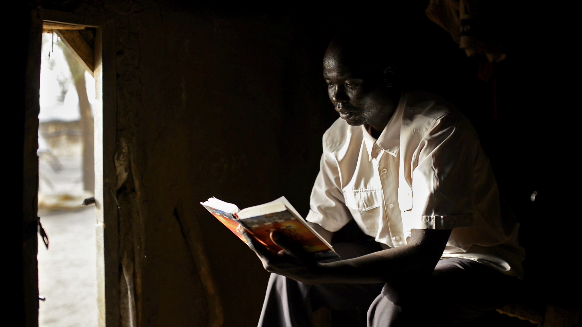 In the years of waiting to complete his education, graduate Dikem has learnt patience in the circumstances and that God protects and is with him.