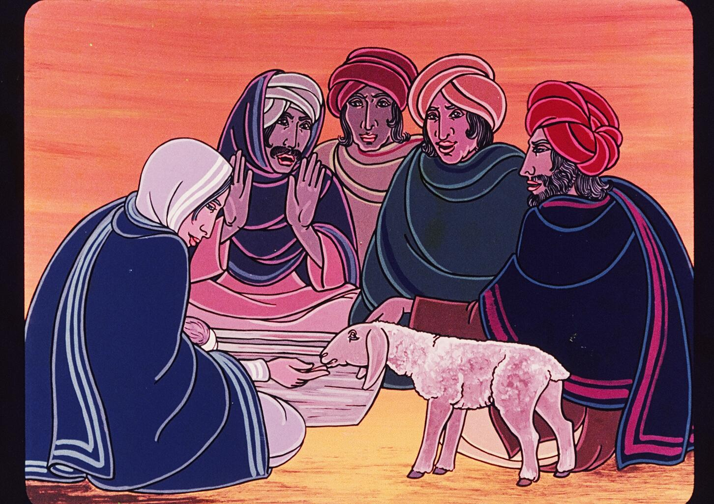 The Shepherds Visit Jesus