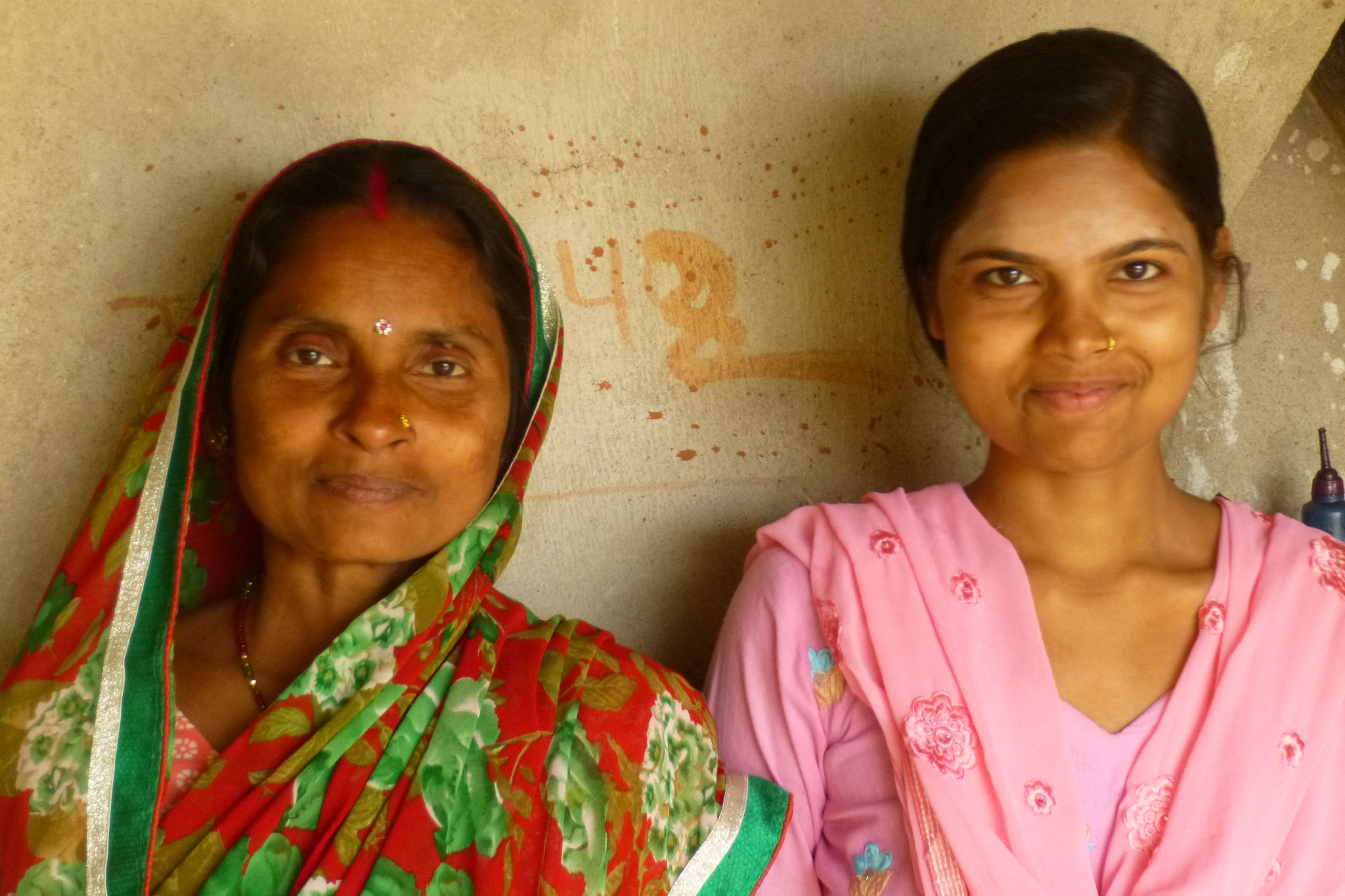 Prabhouti's mother took some convincing at first but is proud as can be now that her daughter has finished high school - photo by Sarah.
