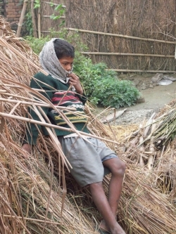 Chetna works in a rural area where access to information and medical care is limited. Photo courtesy of Henry.