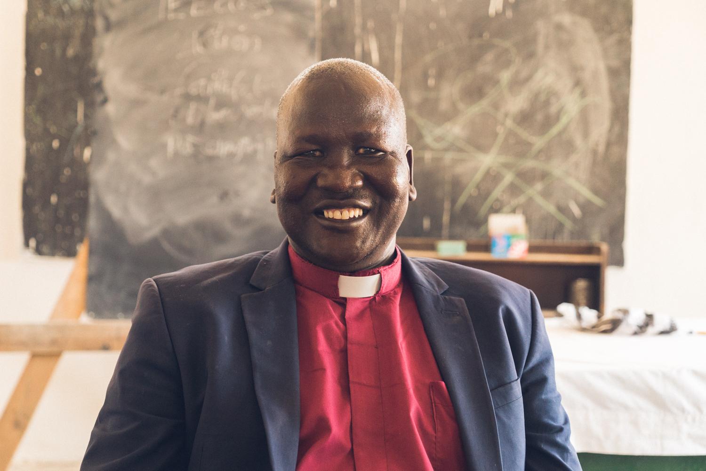 Pastor Kur Deng of Gideon Theological Seminary
