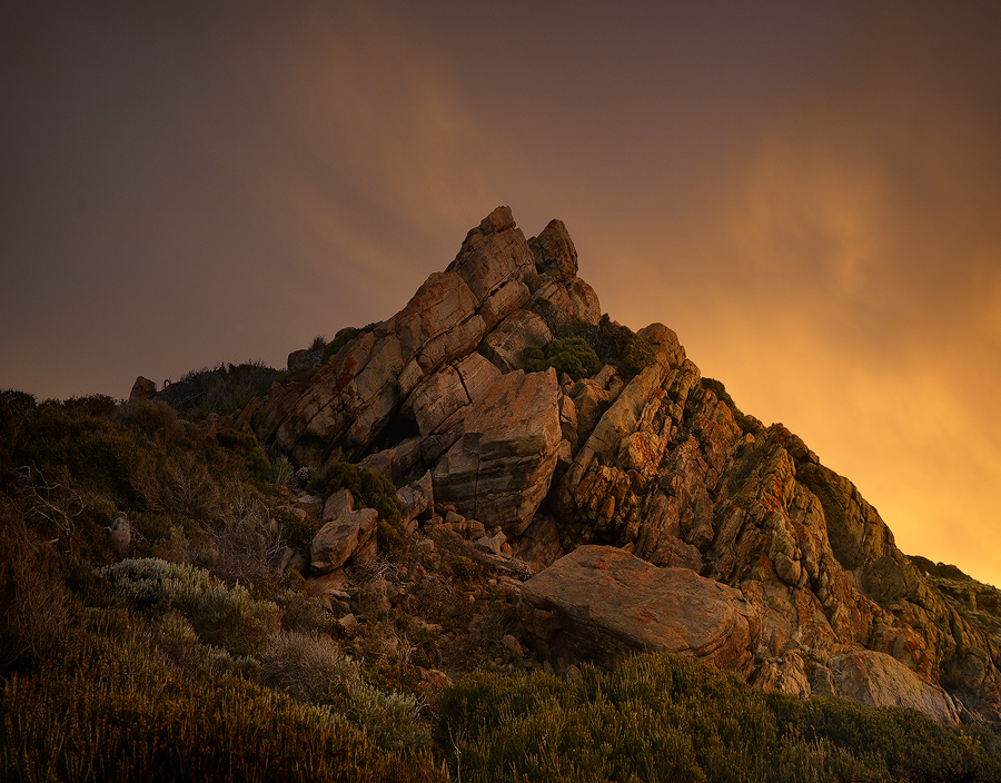 Not the actual Sugarloaf Rock, but uniquely impressive in its own right come sunrise.