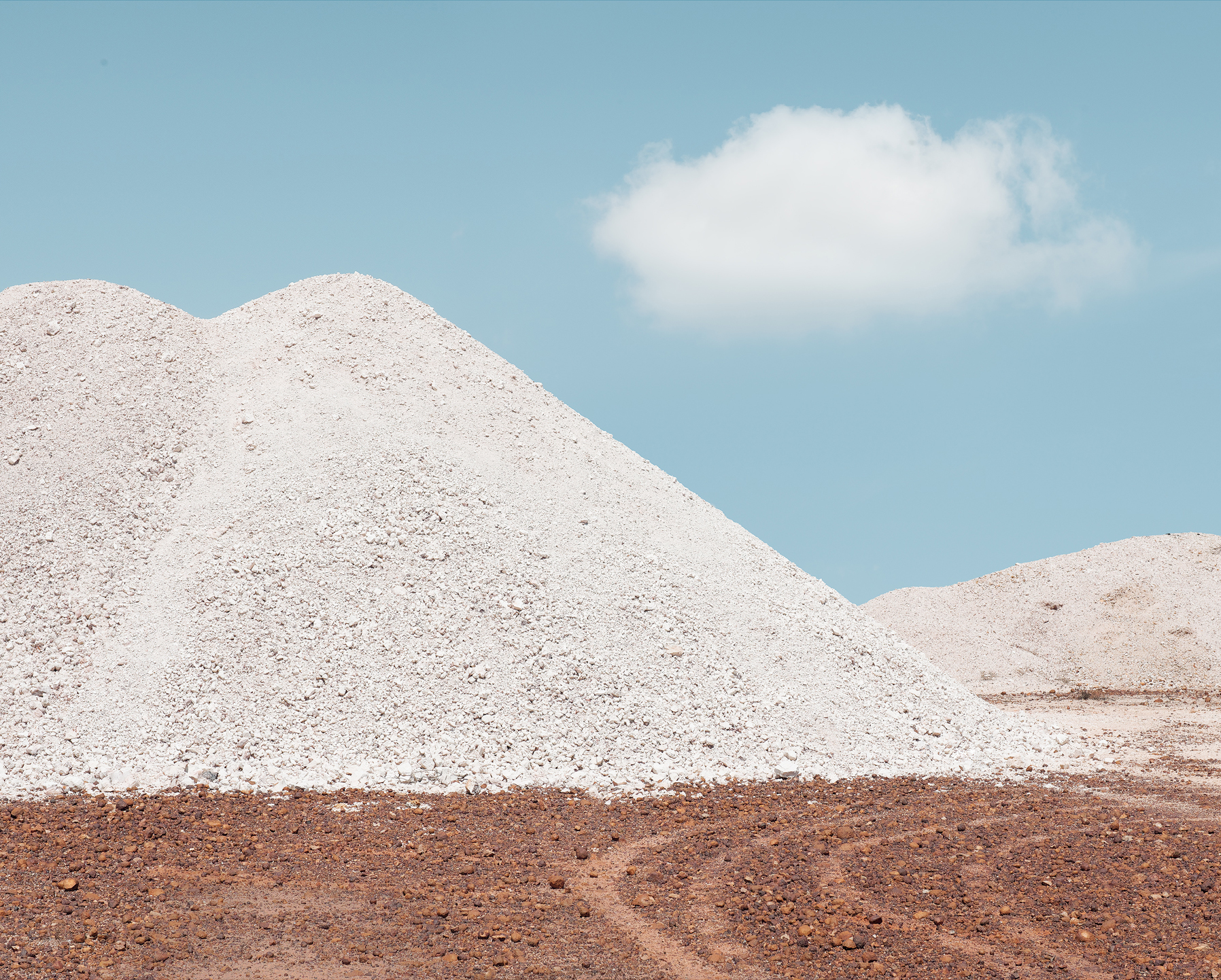 The lunar landscape that is White Cliffs, NSW.
