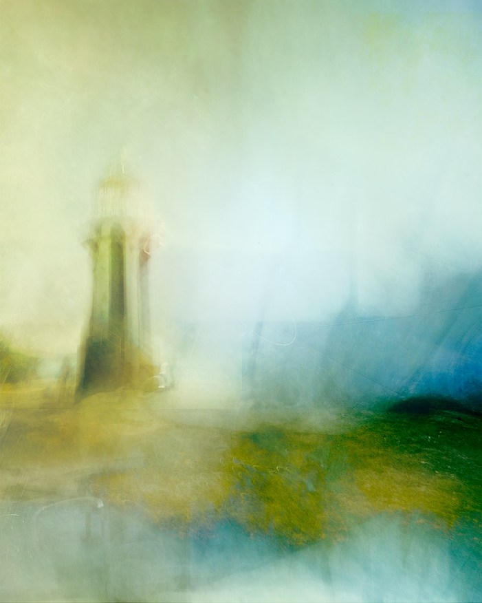 An ICM photo of Hornby Lighthouse in Sydney, Australia, my first attempt at the technique.