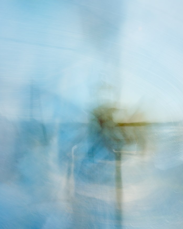 Another ICM image of Hornby Lighthouse. This one reminds of the famous aerial shots of Shark Bay in Western Australia