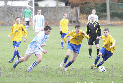Blackrock College Senior Soccer v St Josephs December 5th 2013