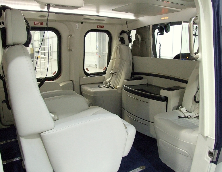 2007 AW139 Interior