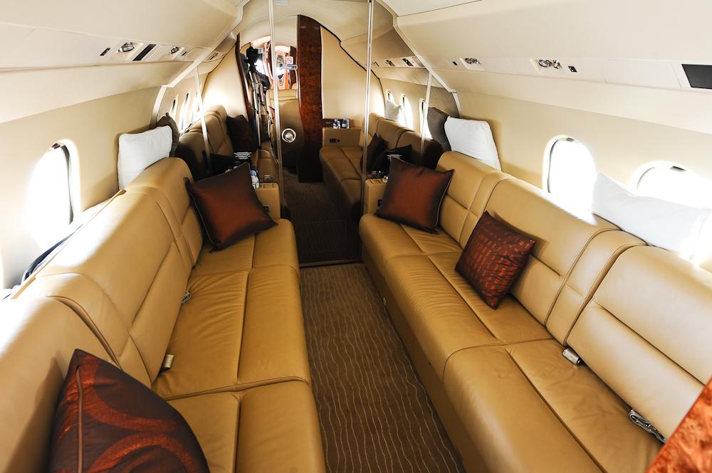 Falcon 900EX Cabin