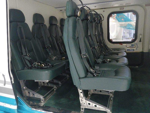AW139 Interior Airline Seating