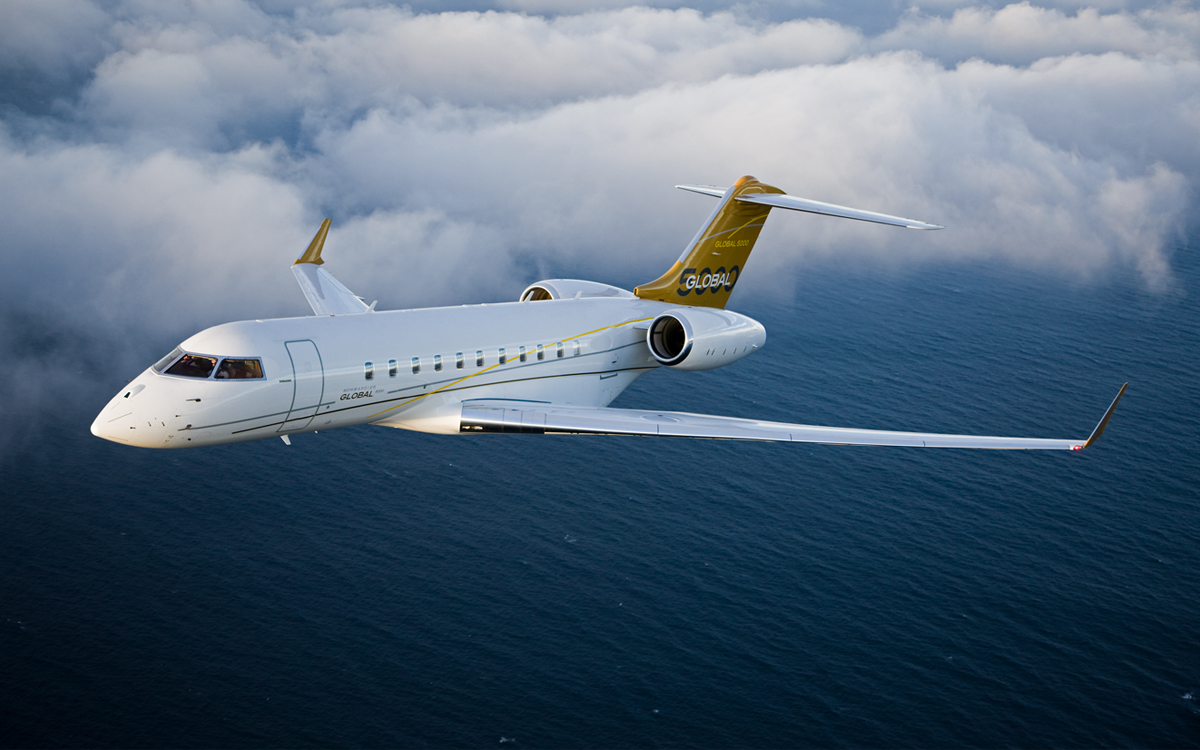Bombardier Global 5000 Market Report - April 2016