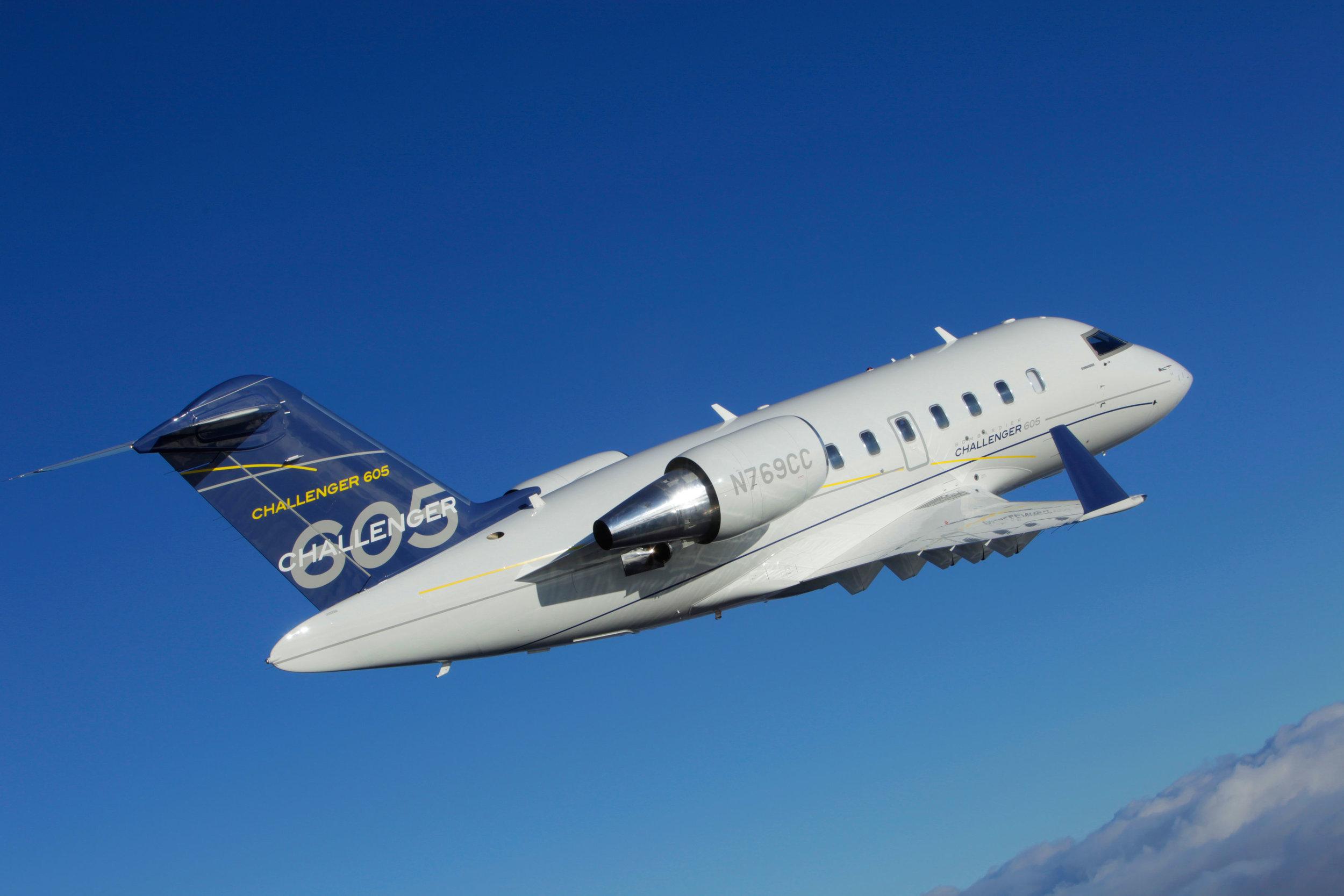 Altus Aviation Bombardier Challenger 605 Market Report January 2018