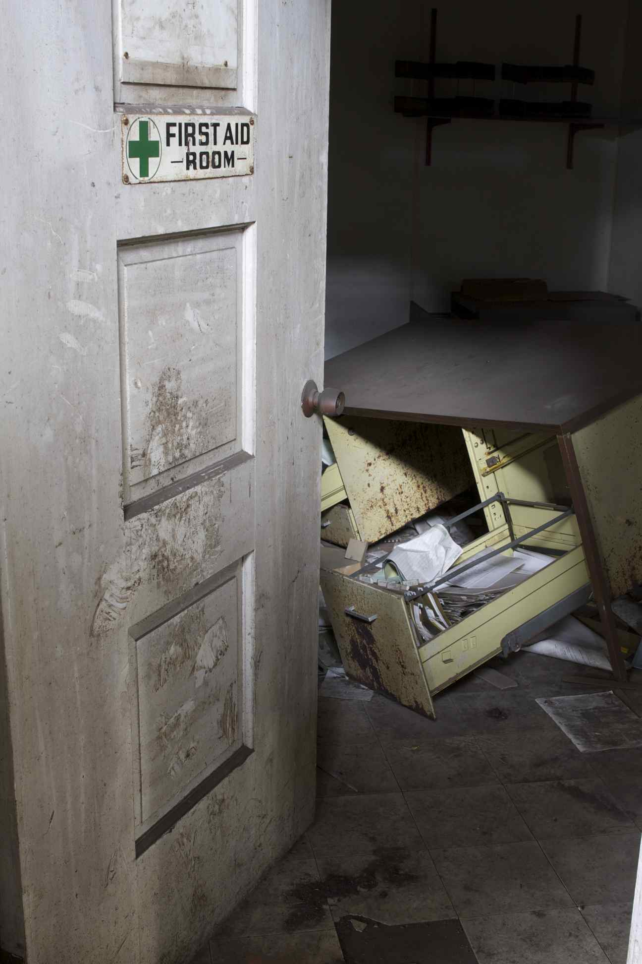 Fort Pitt Foundry: Dilapidated First Aid Room