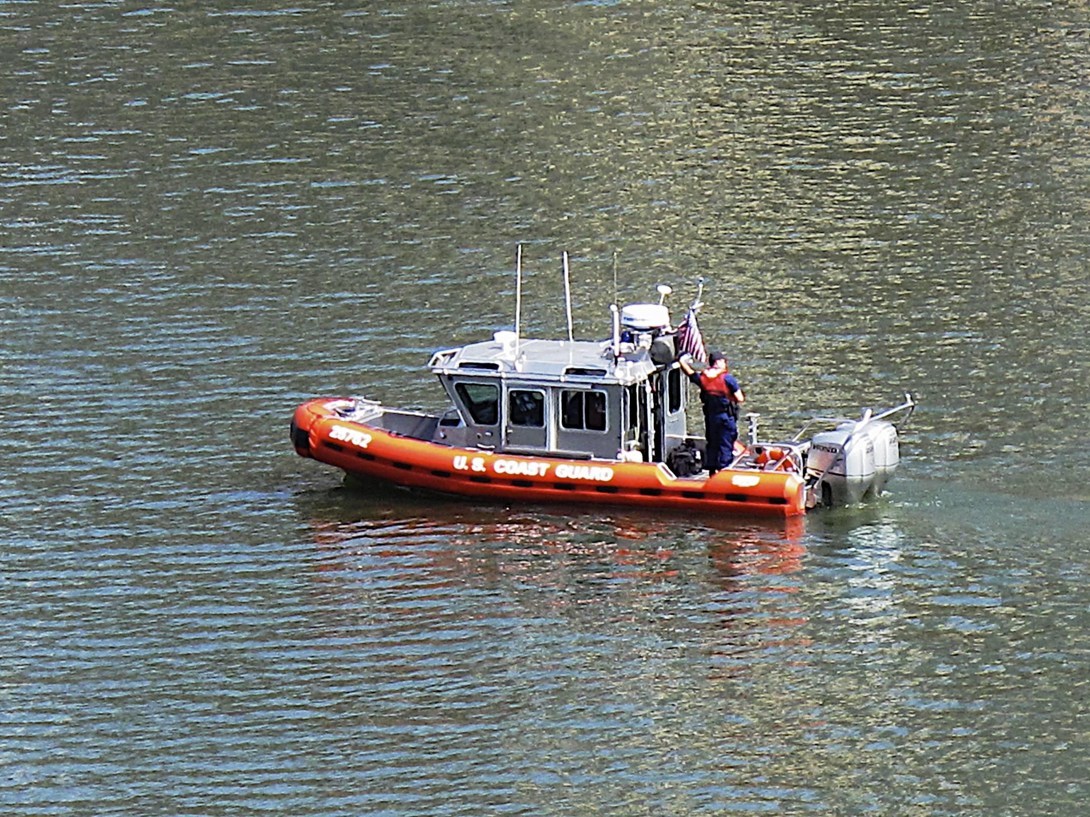 Pgh Boats: Coast Guard on the Monongahela