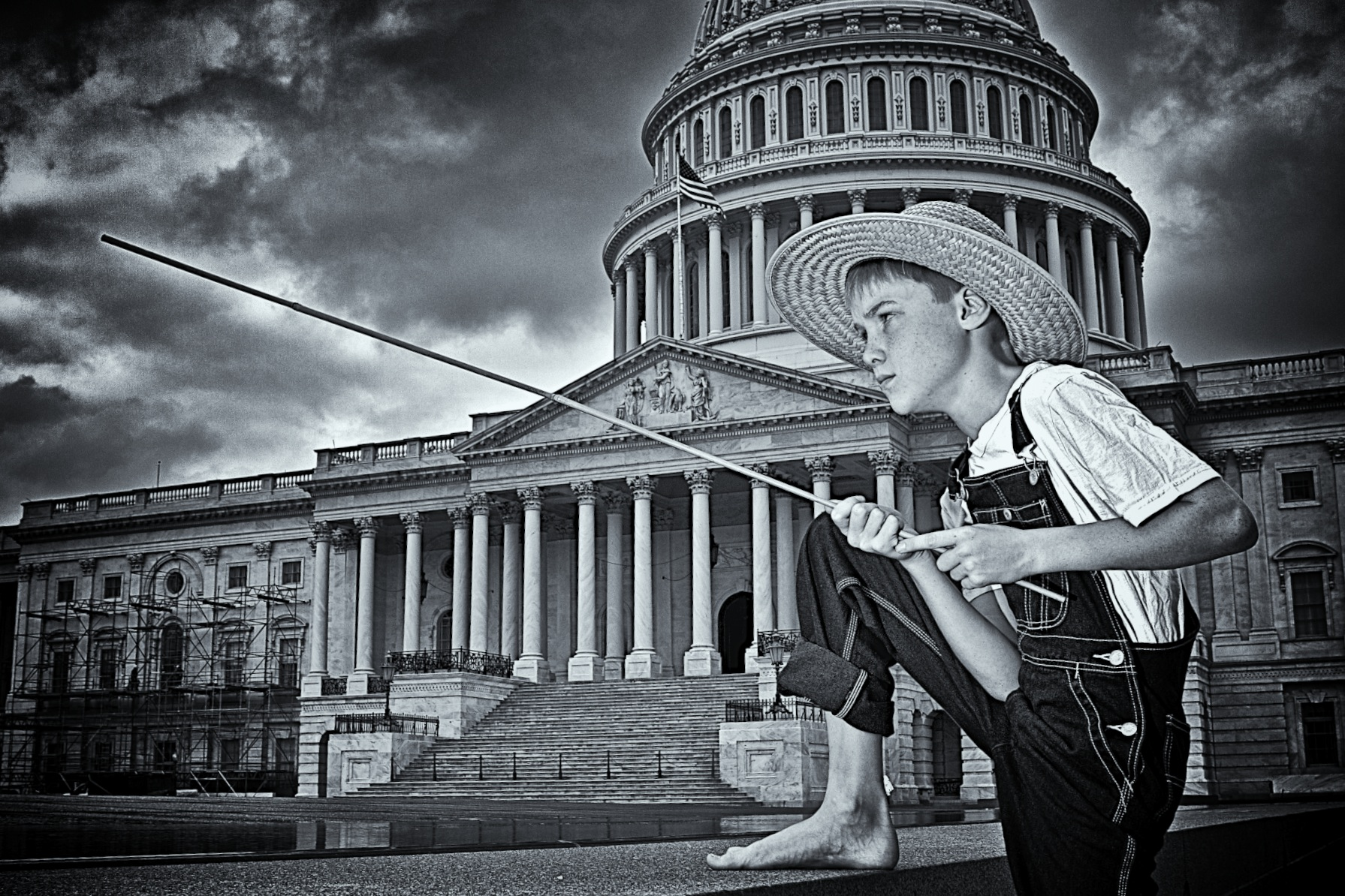 Tom and Huck: Huck Finn at the Capitol
