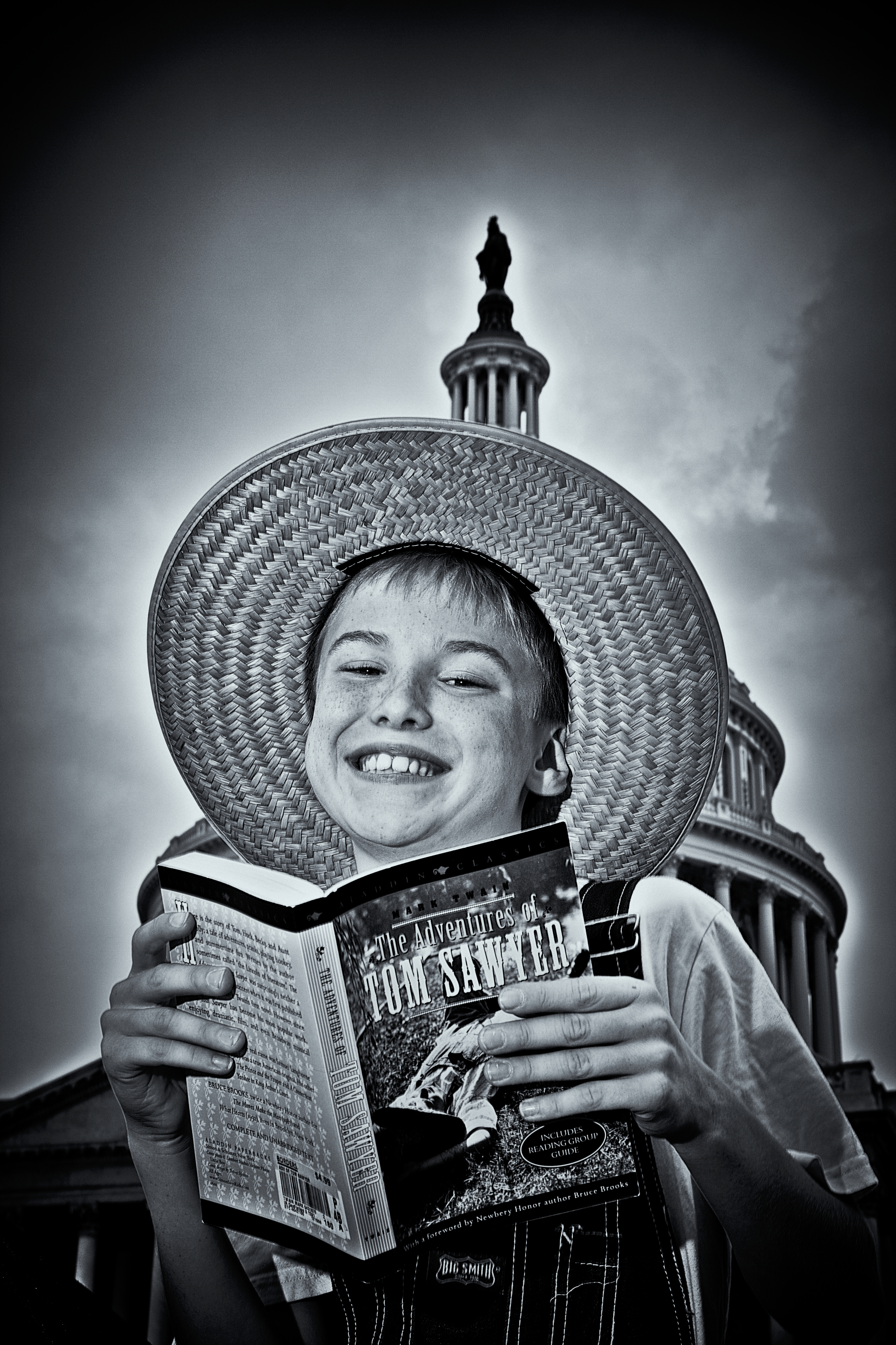 Tom and Huck: Tom Likes to Read about Huck