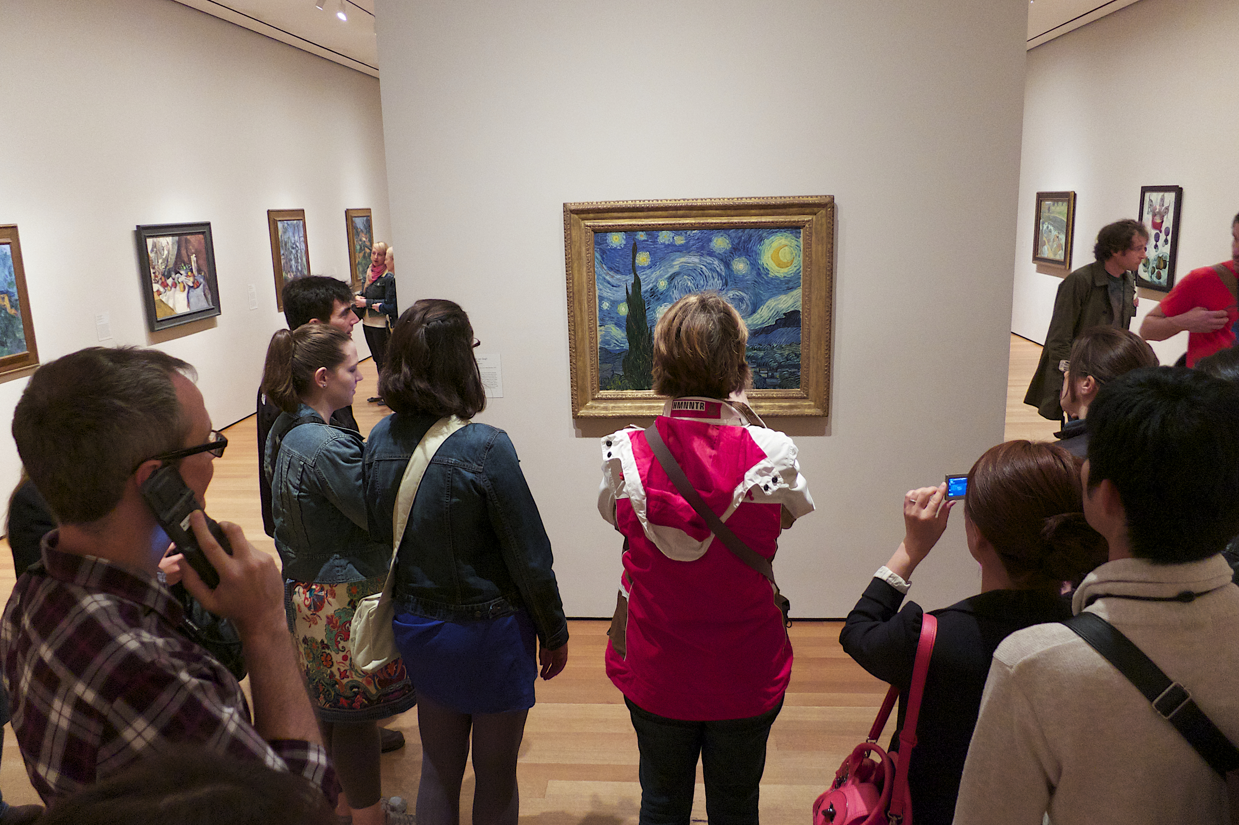 NYC Icons: Starry Night Gawkers at MoMA