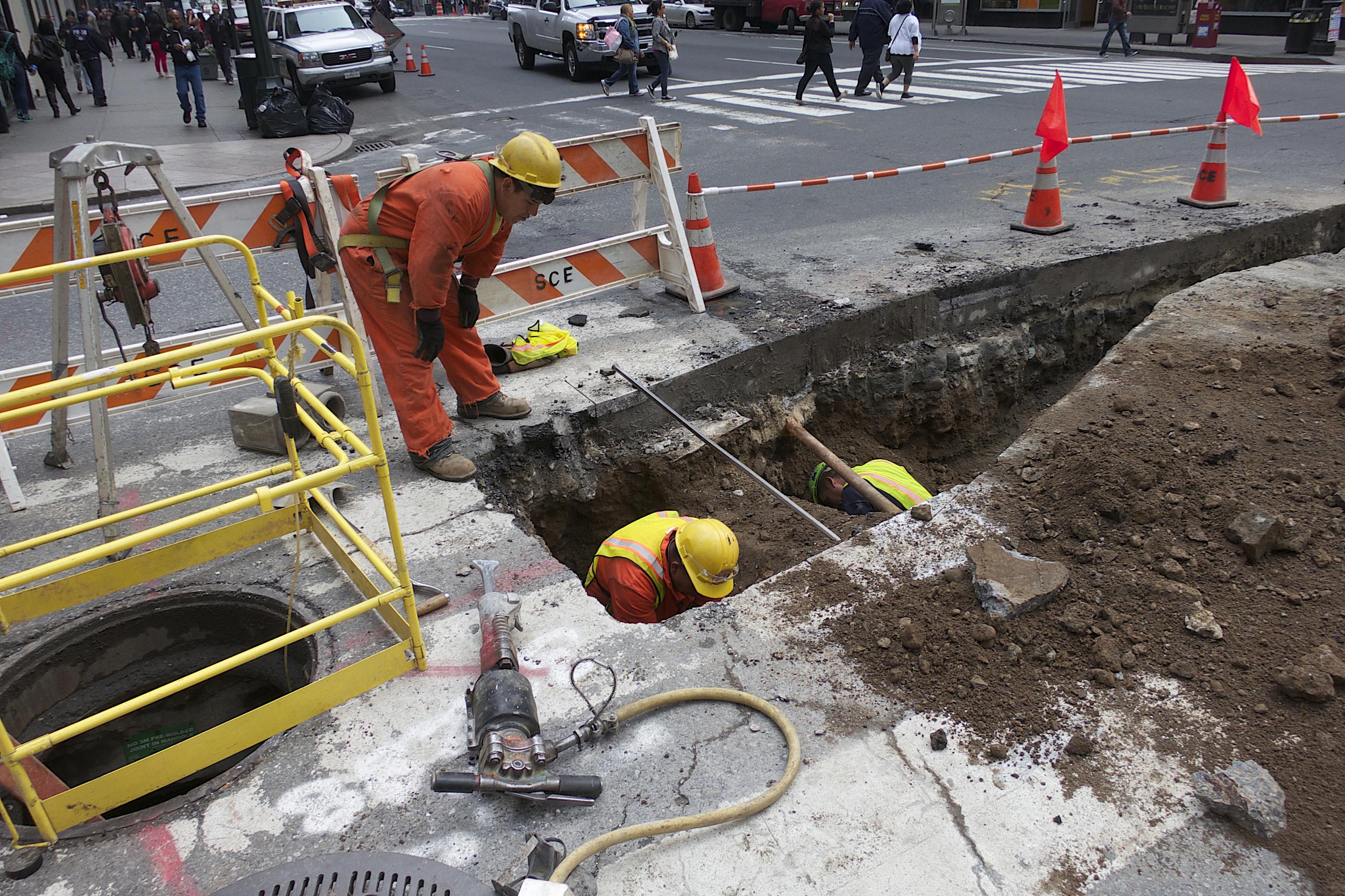 NYC Icons: Men at Work