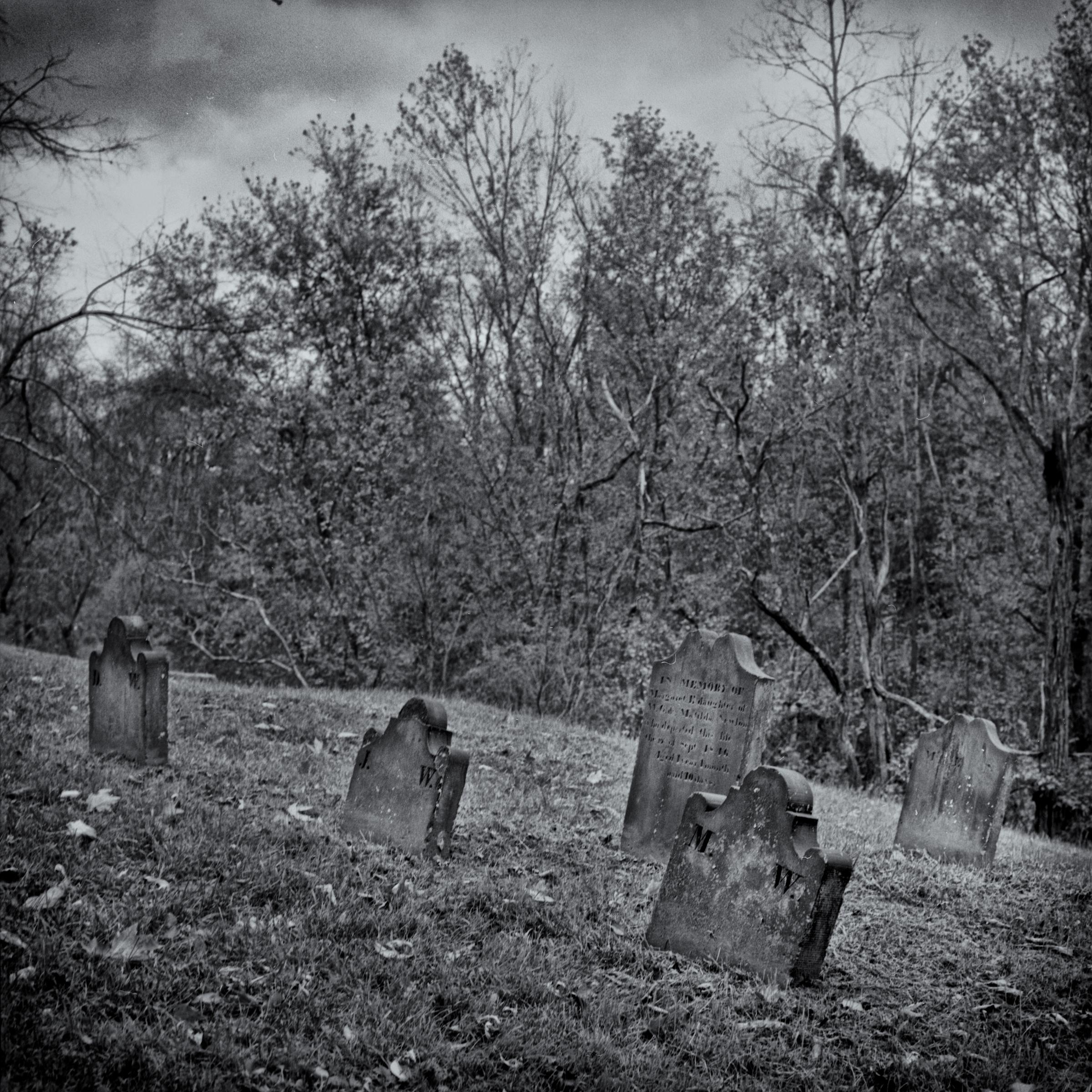 Dravo Cemetery: Unknown Family Headstones