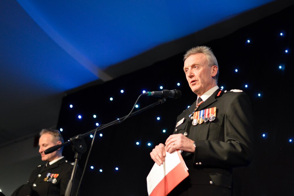 Event Photography at the Greater Manchester Fire & Rescue Awards