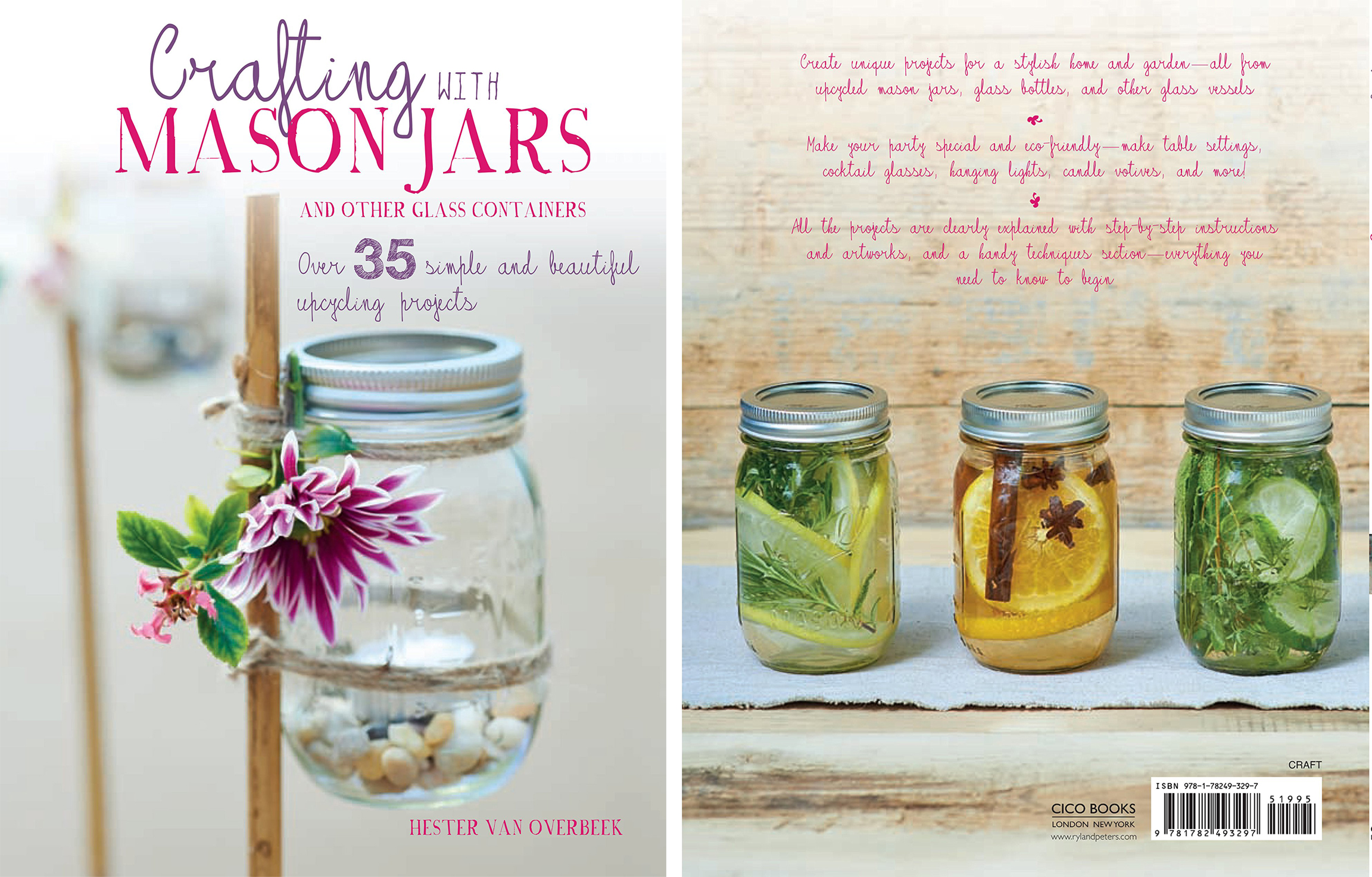 Crafting with Mason Jars got published March 2016 -