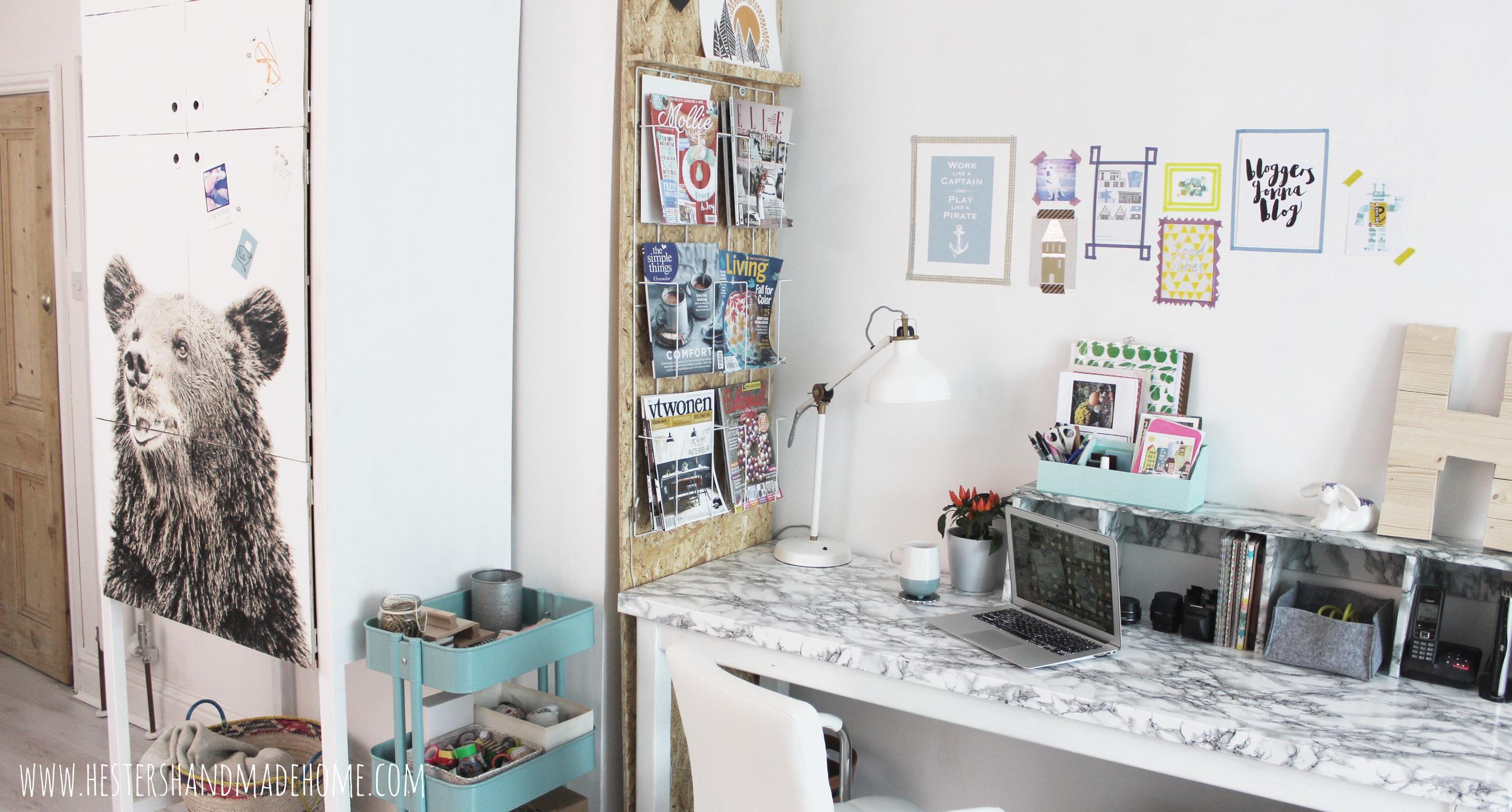 hesters handmade home office