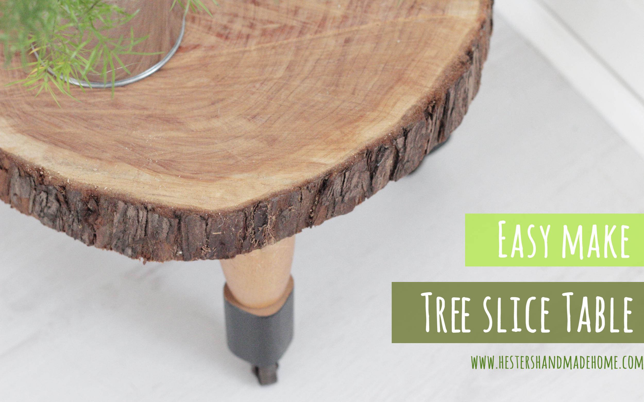 tree slice table hester