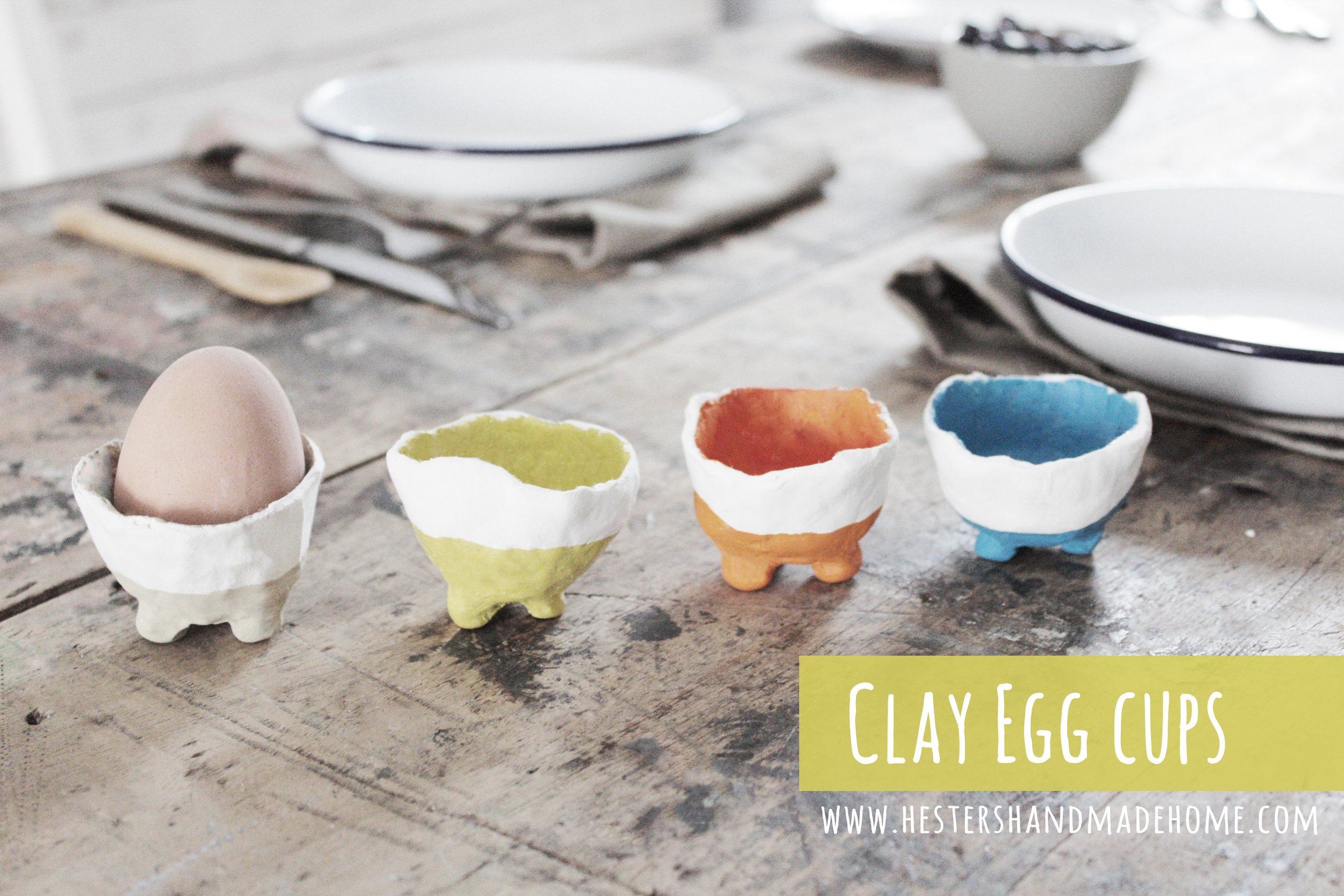 egg cups diy