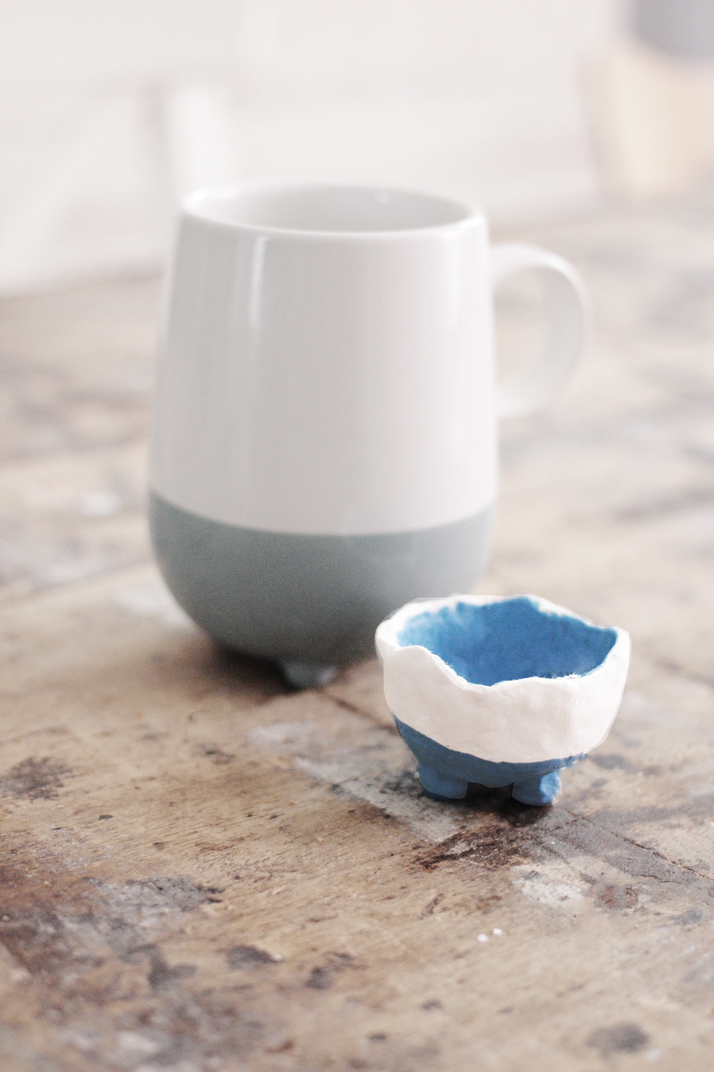 The cup that inspired me to make the little egg cups on legs