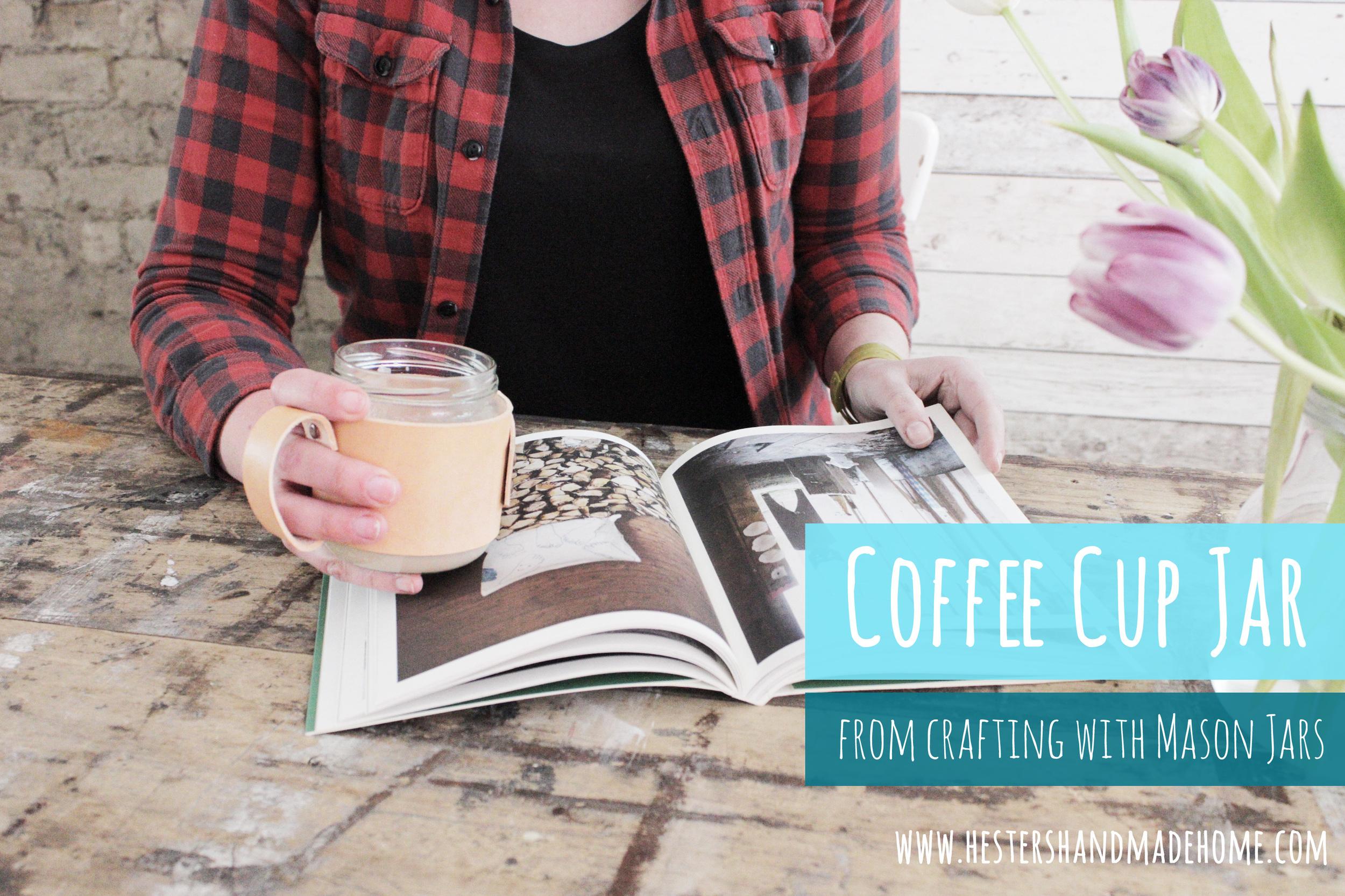 coffee cup jar tutorial