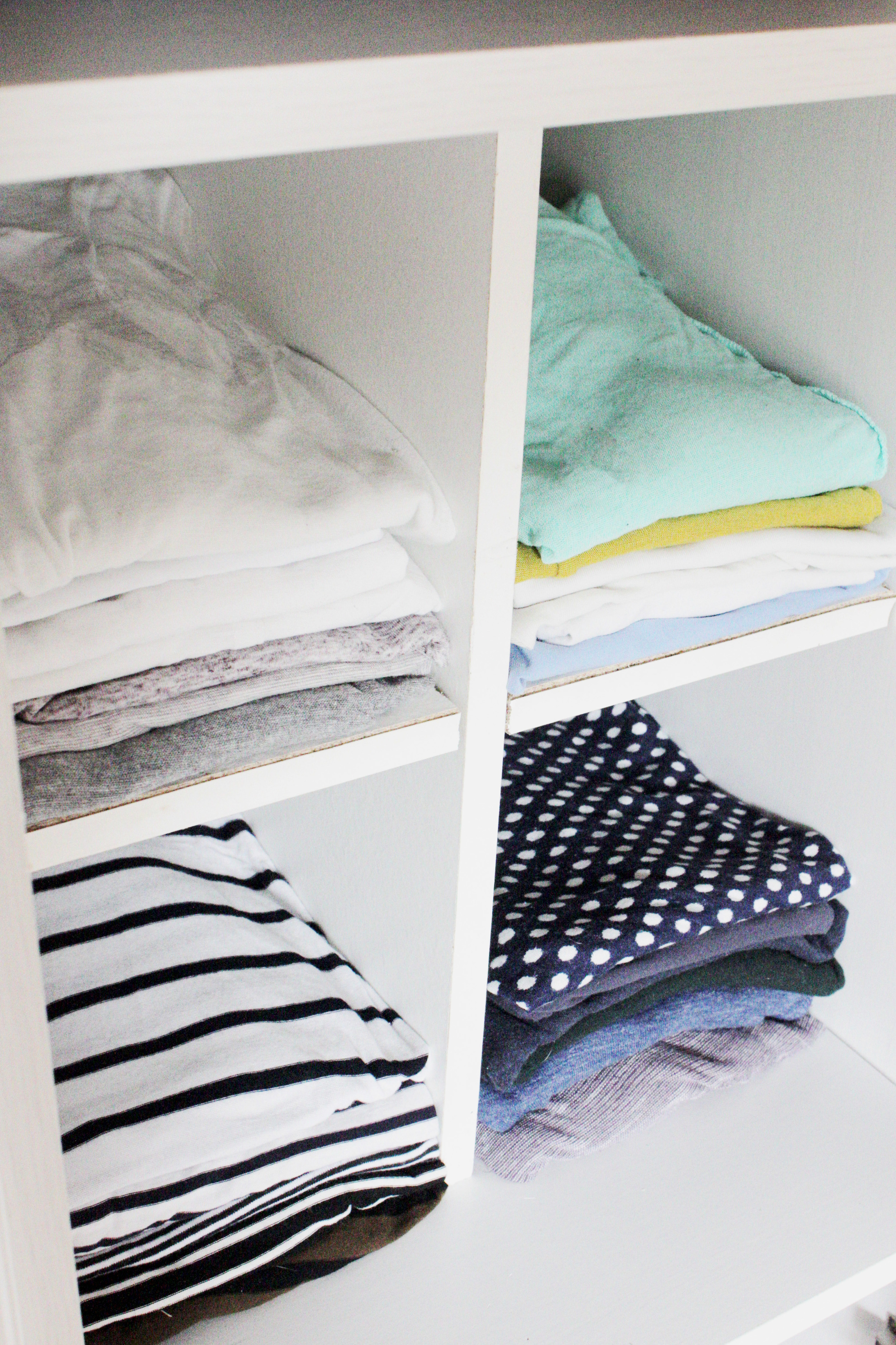 Easy to make wardrobe organiser, tutorial by Hester's Handmade Home